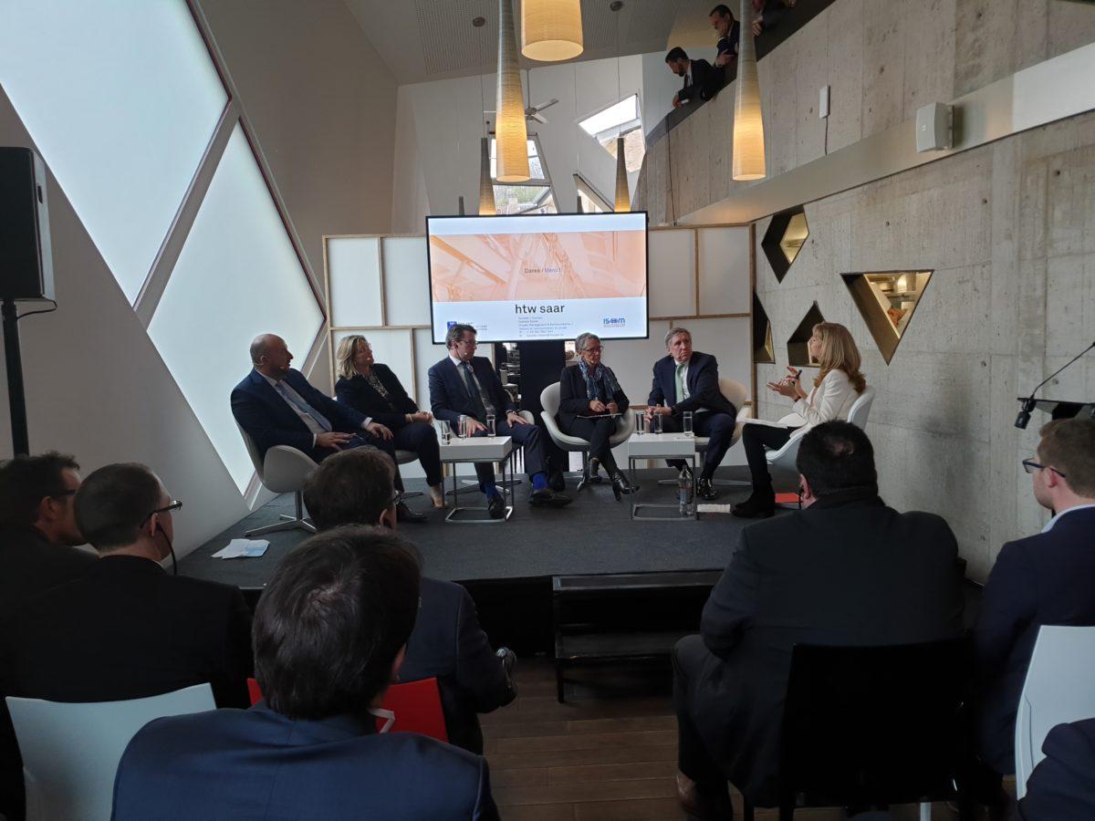 Eröffnung des trilateralen Testfeldes für autonomes Fahren DFL