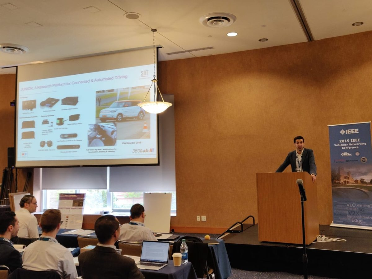 SnT auf der IEEE Vehicular Networking Conference (VNC) in Los Angeles