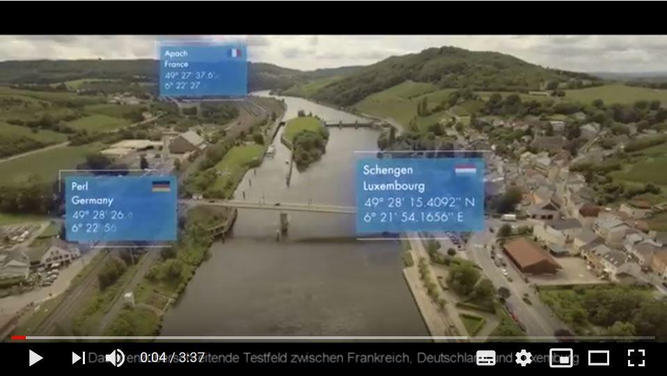 Video zum grenzüberschreitenden Testfeld für Smart Mobility und 5G-Konnektivität online
