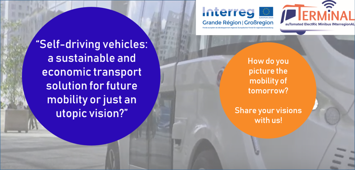 Survey on user acceptance of self-driving vehicles in the Greater Region goes online